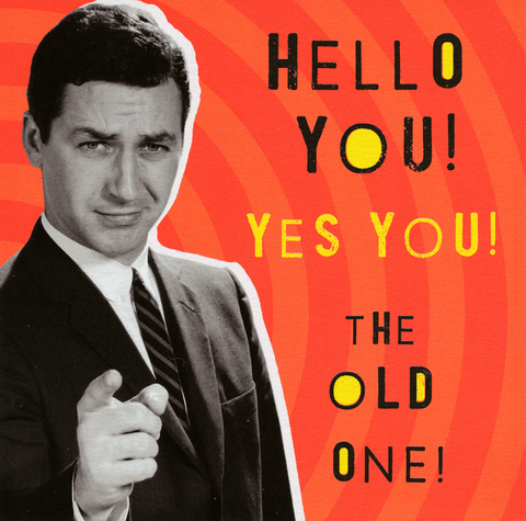 Hello - the old one