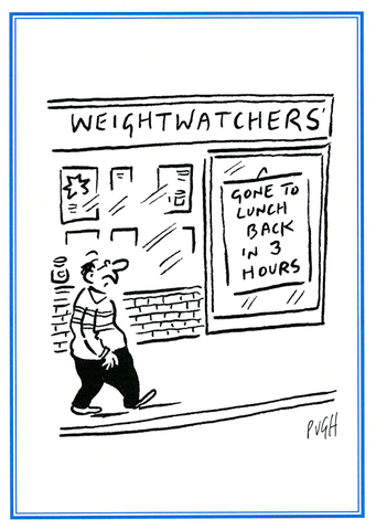 Weight watchers - gone to lunch