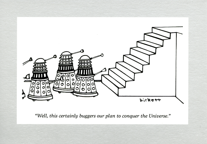 Funny Cards - Daleks : This Buggers Our Plan To Conquer The Universe