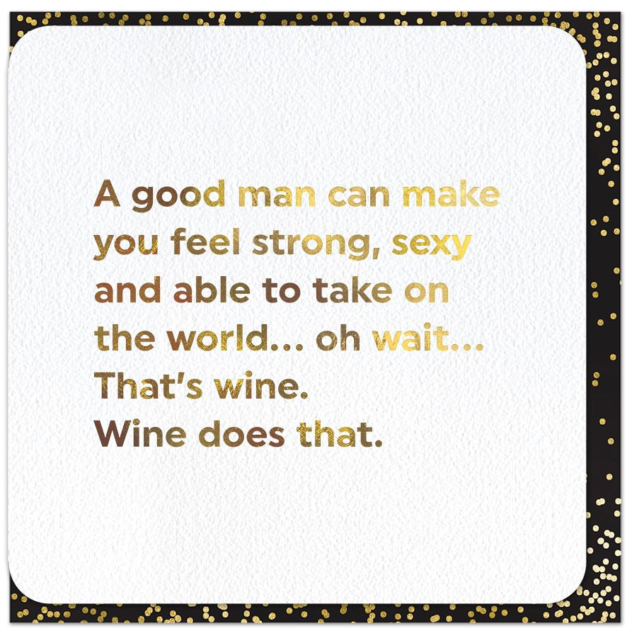 Funny Cards - Wine Does That