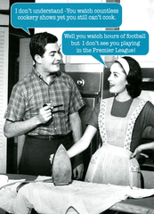 Funny Cards - Watch Cookery Shows Yet Can't Cook