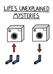 Funny Cards - Life's Unexplained Mysteries