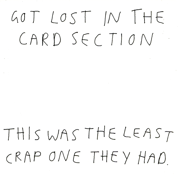 Funny Cards - Got Lost In The Card Section