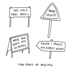 Birthday Card - Signs Of Ageing