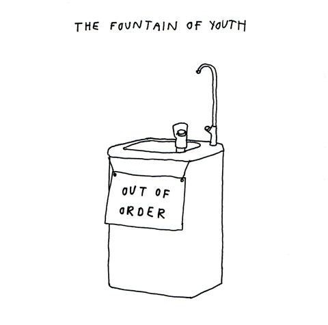 Birthday Card - Fountain Of Youth