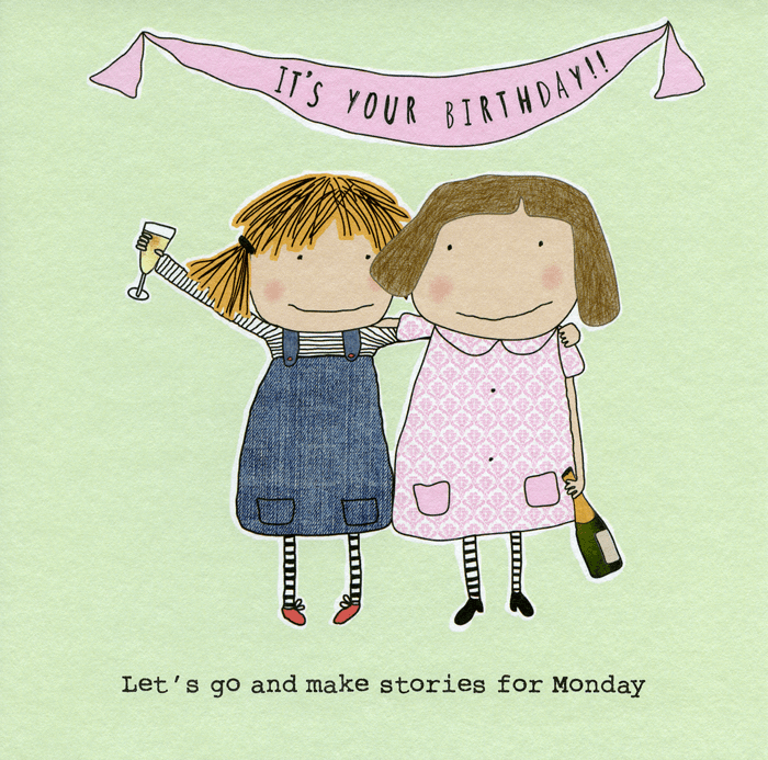Birthday Card - Let's Make Stories For Monday