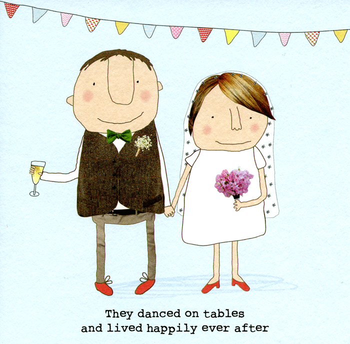 Funny Cards - Wedding - Lived Happily Ever After