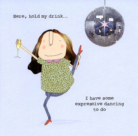 Funny Cards - Have Some Expressive Dancing To Do