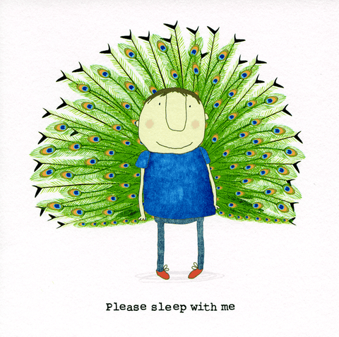 Valentines Cards - Please Sleep With Me