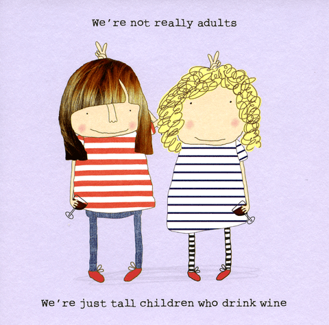 Tall Children Who Drink Wine