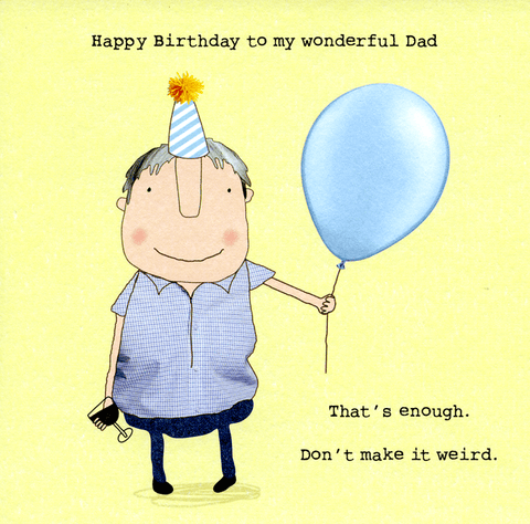 Birthday Card - Birthday - Wonderful Dad