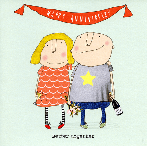 Love / Anniversary Cards - Anniversary - Better Together