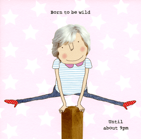 Born to be wild (woman)