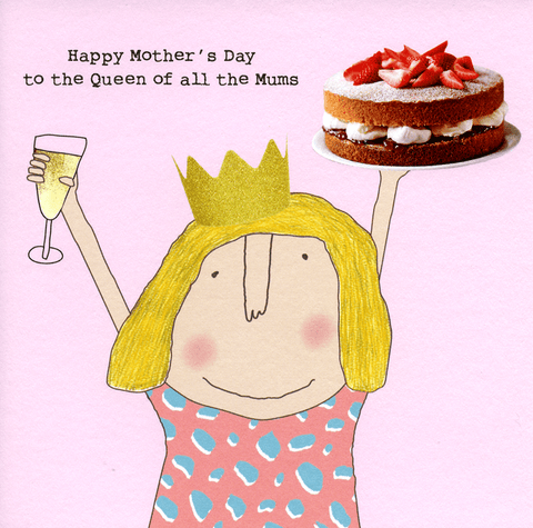 Mother's Day Cards - Queen Of All Mums
