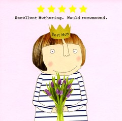 Mother's Day Cards - 5 Star Mothering