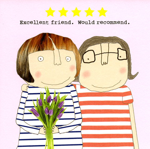 Funny Cards - Excellent Friend