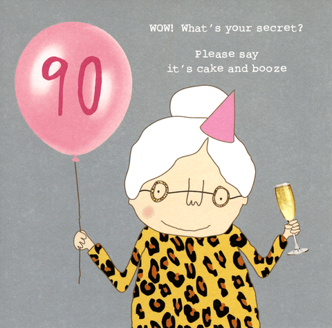 90th - What's your secret?