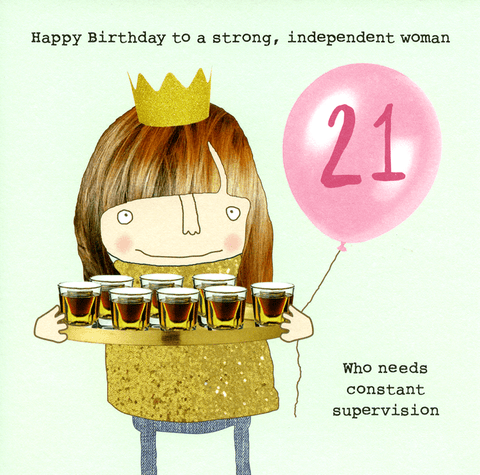 21st - Woman who needs supervision