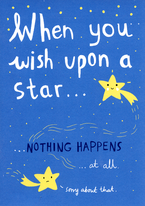Funny Cards - When You Wish Upon A Star