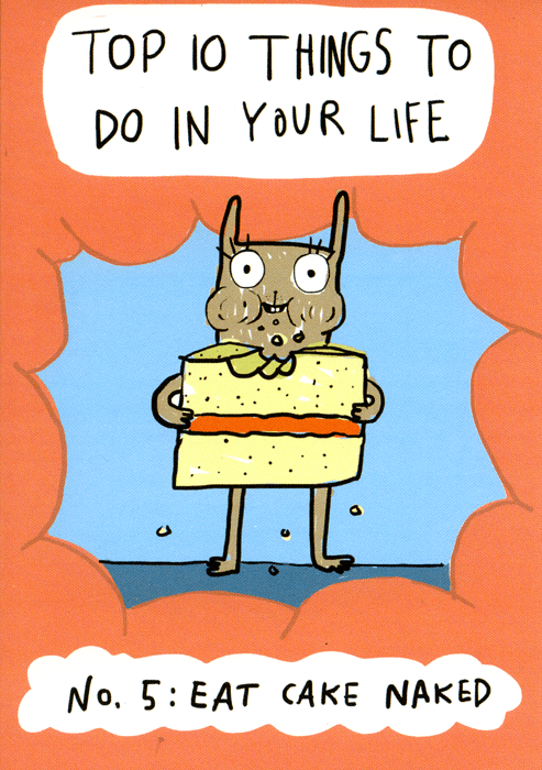 Funny Cards - Top 10 Things To Do In Your Life