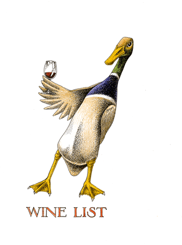Funny Cards - Wine List