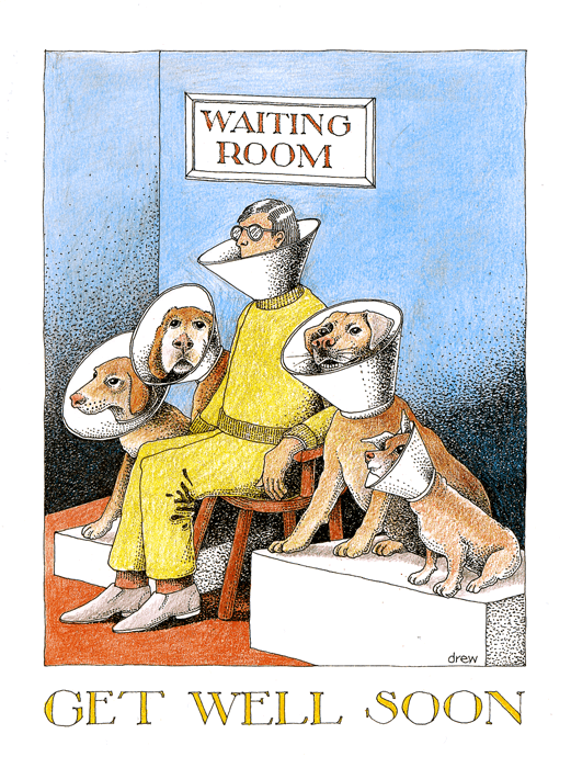 Funny Get Well Soon Cards - Waiting Room - Get Well Soon