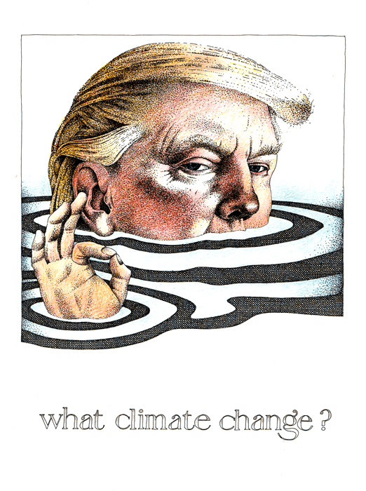 Funny Cards - Trump - What Climate Change?