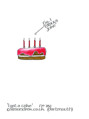 Birthday Card - Get A Cake Out Of You