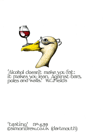 Funny Cards - Wine Tasting