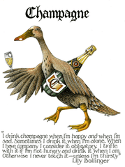 Funny Cards - Champagne