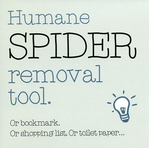 Funny Cards - Spider Removal Tool