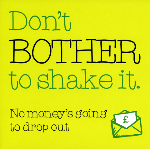 Funny Cards - Don't Bother To Shake It