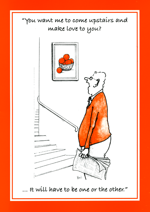 Funny Cards - Come Upstairs And Make Love To You