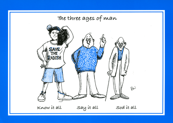 Funny Cards - The Three Ages Of Man