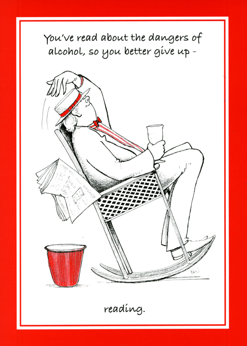 Funny Cards - Dangers Of Alcohol