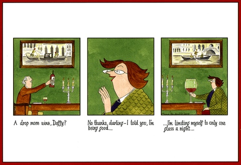 Funny Cards - One Glass A Night