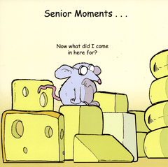 Funny Cards - Senior Moments . . .