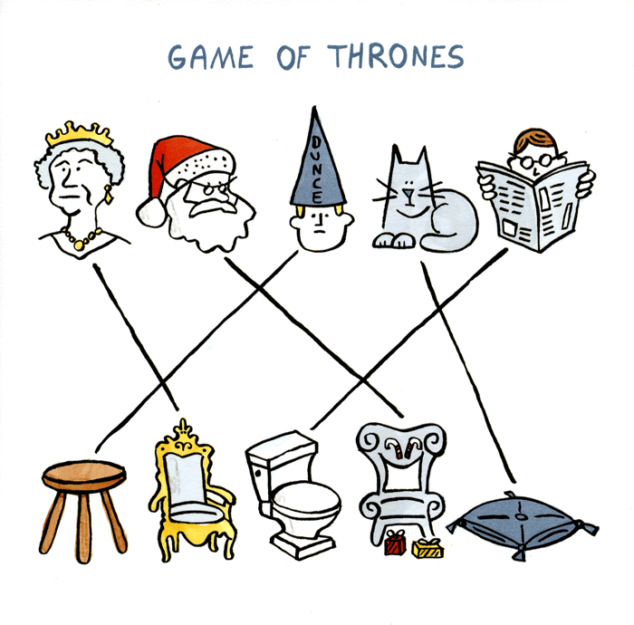 Funny Cards - Game Of Thrones