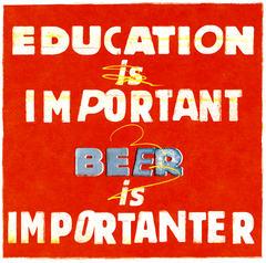 Funny Cards - Education Is Important