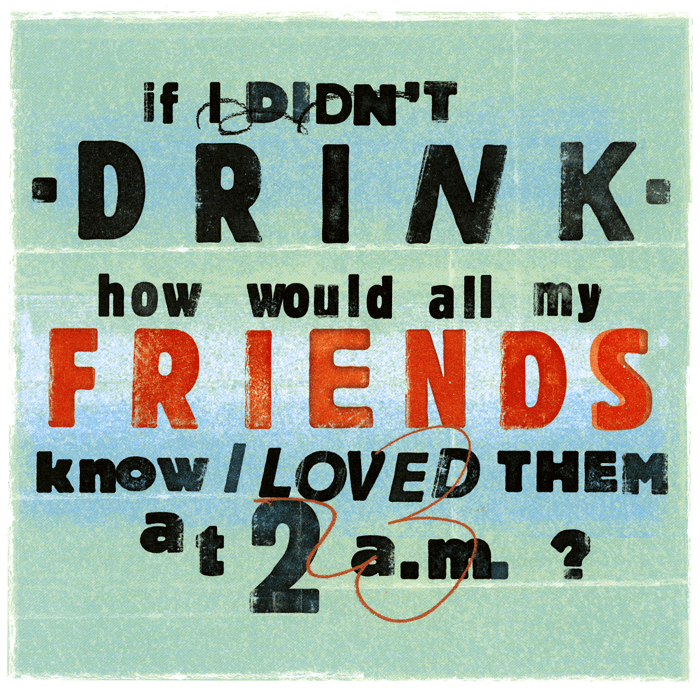 Funny Cards - If I Didn't Drink