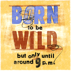 Funny Cards - Born To Be Wild (until 9pm)