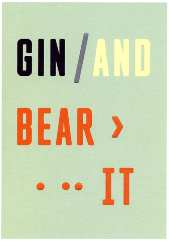 Funny Cards - Gin And Bear It