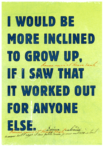 More inclined to grow up