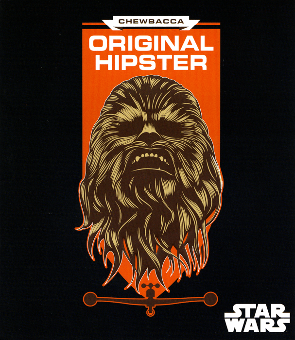 Funny Cards - Chewbacca - The Original Hipster