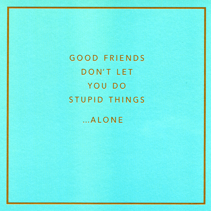 Funny Cards - Friends - Stupid Things