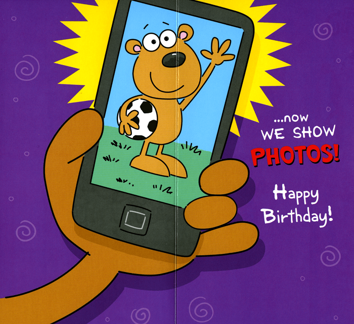 Funny Birthday Card Grandson Stopped Talking About You Comedy