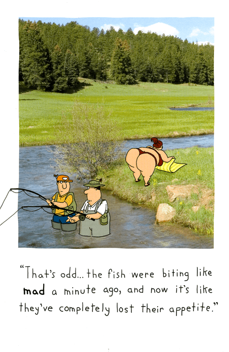 Funny Cards - Fish Lost Their Appetite