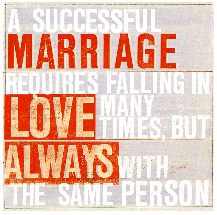 Funny Cards - Wedding Day - Falling In Love Many Times