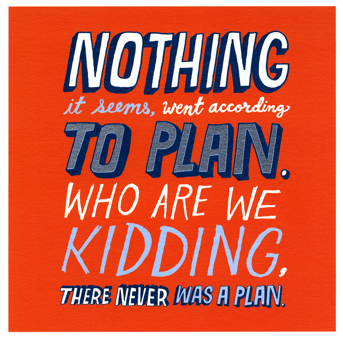 Funny Cards - Nothing Went According To Plan