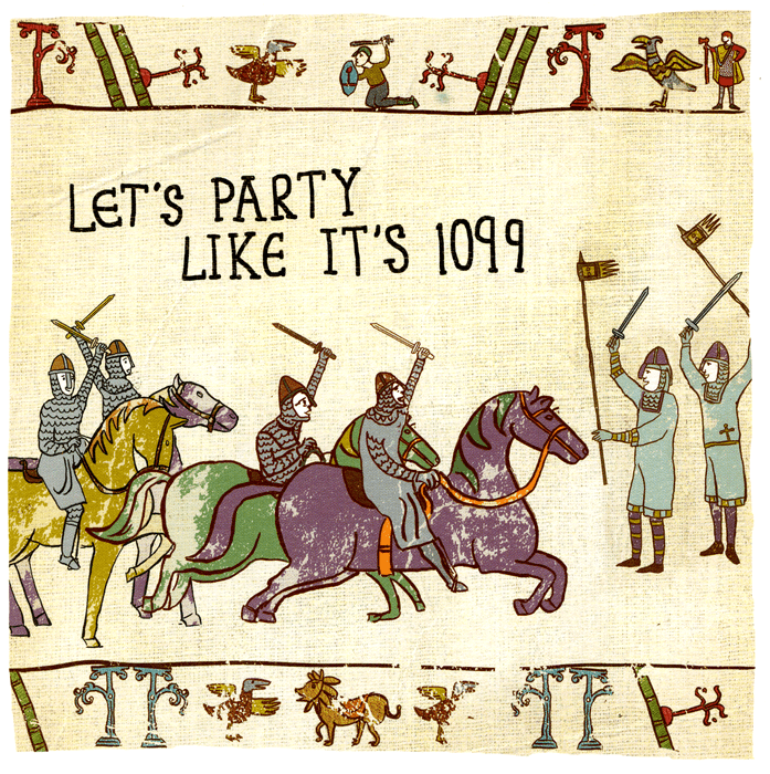 Funny Cards - Party Like It's 1099
